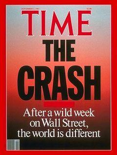 Black Monday - the Stock Market Crash of 1987 - Time Magazine