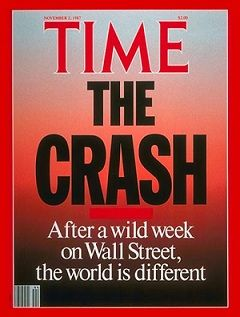Black Monday - the Stock Market Crash of 1987 - Time Magazine