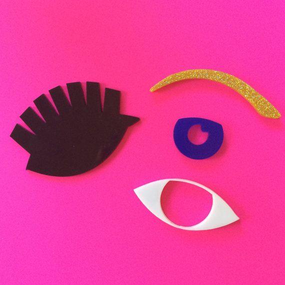 Eye Spy Stacker  DIY Laser Cut Acrylic Supplies by CraftyCutsLaser #lasercut #lasercutsupplies https://www.etsy.com/au/listing/217574926/eye-spy-stacker-diy-laser-cut-acrylic?ref=shop_home_active_3