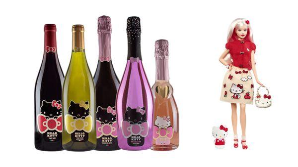 Hello Kitty Cheers To 43 Years With 'Hello Kitty Wine' & 'Barbie Hello Kitty'