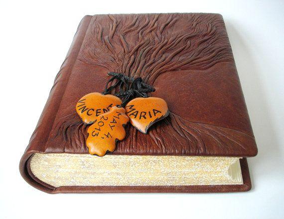 Matrimonio rustico Guest Book albero della vita di Leatherdust