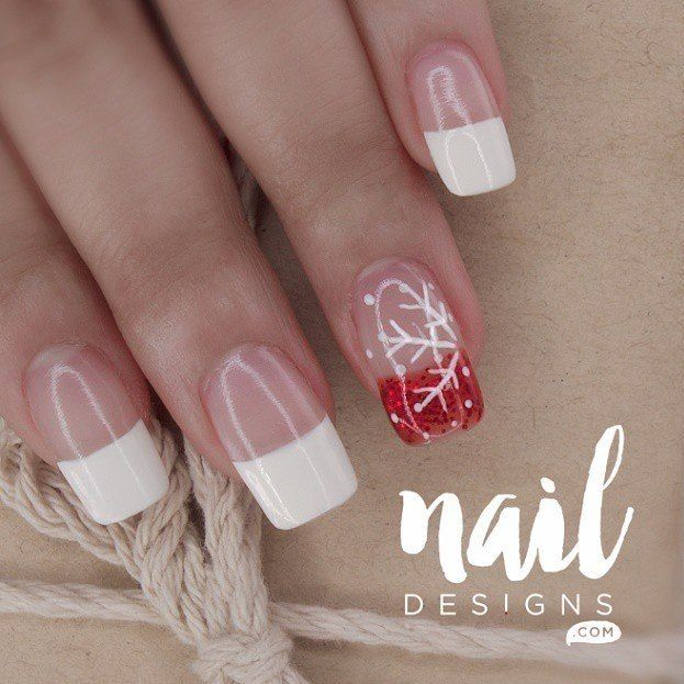 1050 best instagram nail design images on pinterest instagram new post sharing with you a snowflake nails tutorial this is a fairly easy to do design link on bio prinsesfo Gallery