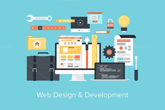 Check out Web Design and Development. by vasabii on Creative Market