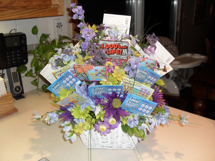 Of the lottery ticket gift basket gift baskets perfect gift gift