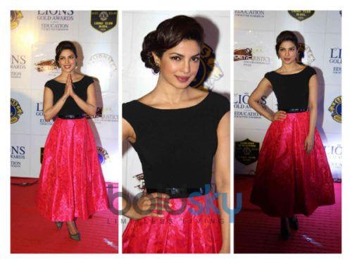 Long Skirt Hairstyle By Priyanka Chopra Jupe Longue Meilleures Coiffures Coiffure