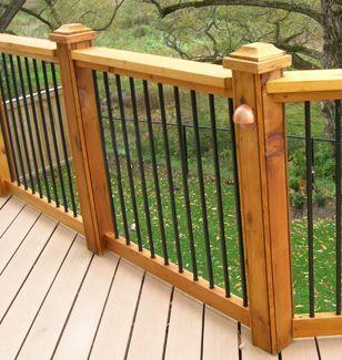 Home depot deck railing designs
