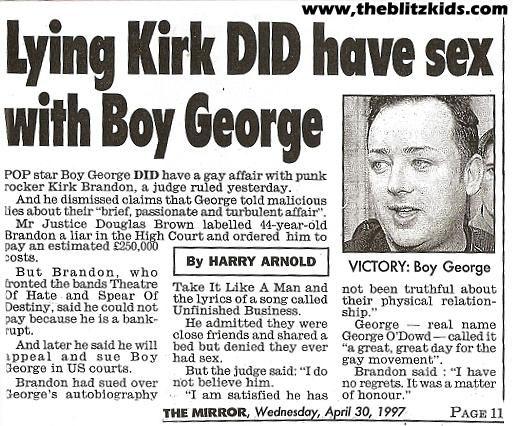 boy george kirk brandon court case pesquisa google boy