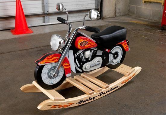Rocking harley davidson motorcycle plans woodworking for Woodworking plan for motorcycle rocker toy