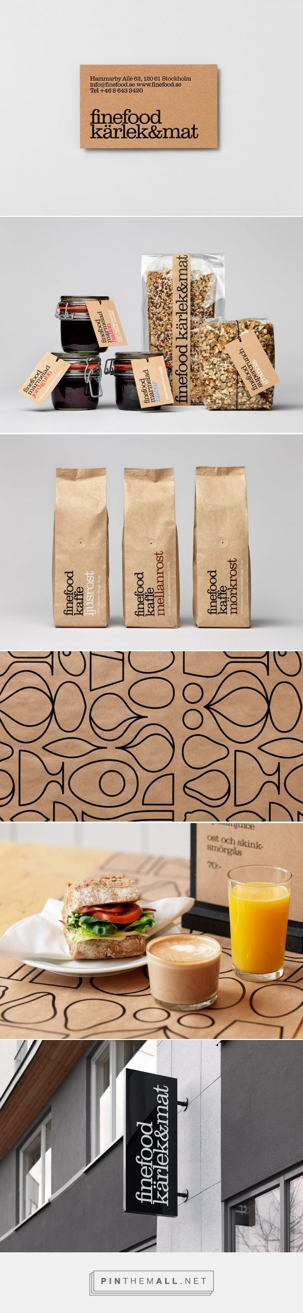 Finefood packaging and branding by The Studio curated by Packaging Diva PD. Was one of the first in a wave of modern delis in Stockholm in the late nineties that combined table serving, take away food, a deli and a store with carefully curated produce.