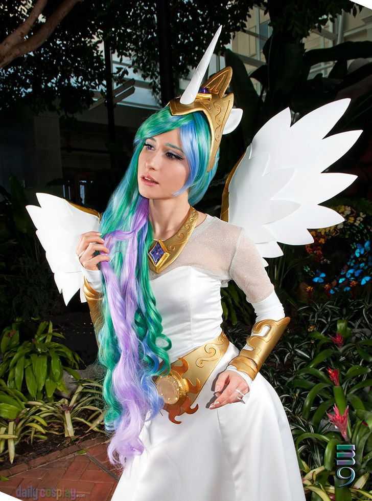 Princess Celestia from My Little Pony: Friendship is Magic http://dailycosplay.com/2013/August/26b.html #cosplay