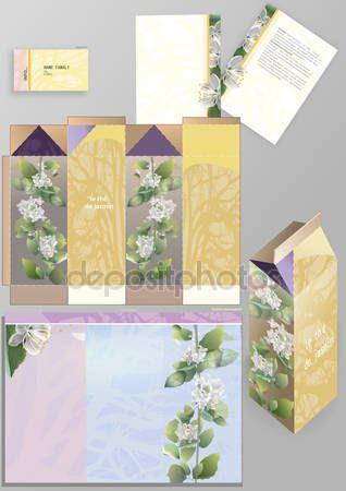 Жасминовый чай упаковки —  Векторное изображение © elena010883_@mail.ru #113324240