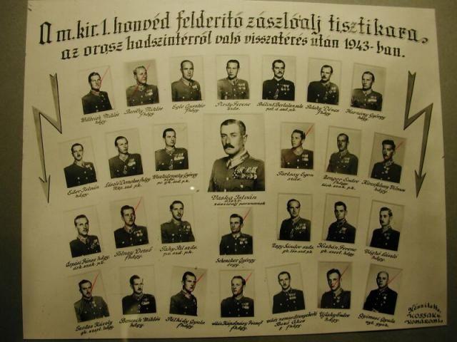 M.Kir. 1. honvéd felderítő zlj. tisztikara