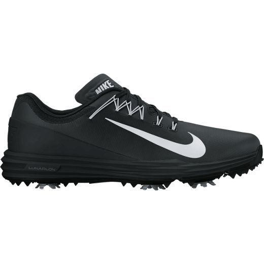 Black/White Nike Ladies Lunar Command 2 Golf Shoes. More ladies shoes at #lorisgolfshoppe