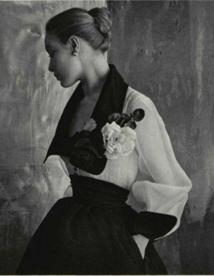 Fashion by Jacques Fath, 1952. via theniftyfifties tumblr
