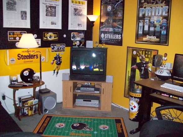 Pittsburgh Steelers Man Cave Decor : Best images about steelers on pinterest see