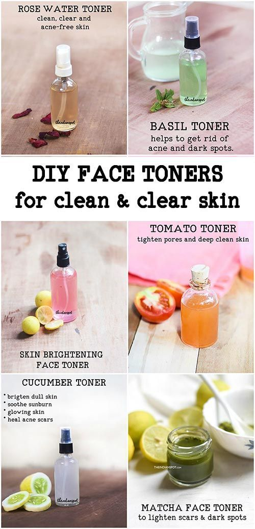 12 Natural DIY Face toner for clean and clear skin