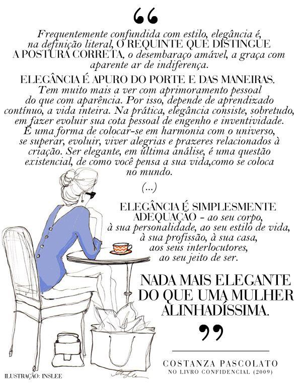 Costanza Pascolato - Confidencial