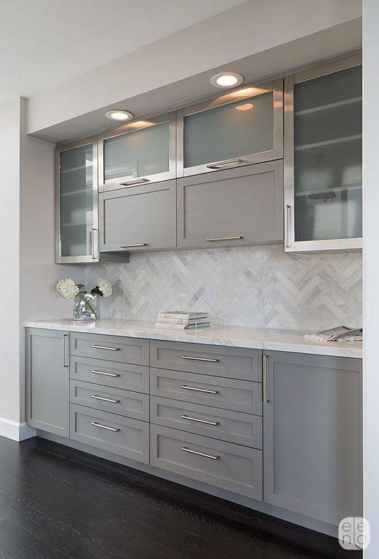 Elena Calabrese Design & Decor | Projects: Modern Victorian Kitchen