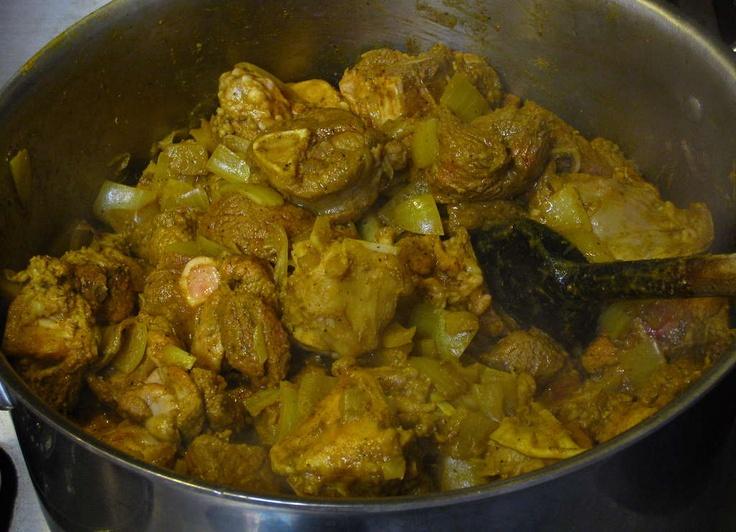 Curried Goat Recipe - -Jamaican