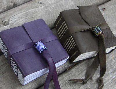 My Handbound Books - Bookbinding Blog: August 2008 - http://myhandboundbooks.blogspot.com/2008_08_01_archive.html