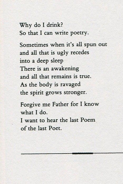 Poem by Jim Morrison