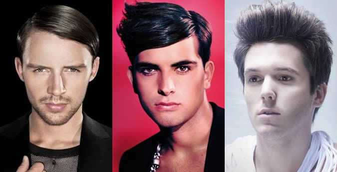 Men S Heart Face Shape Hairstyle Examples Hair Style