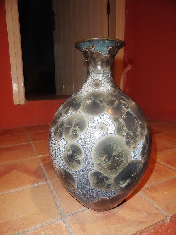 748 Best Crystaline Glazes Images On Pinterest Ceramic