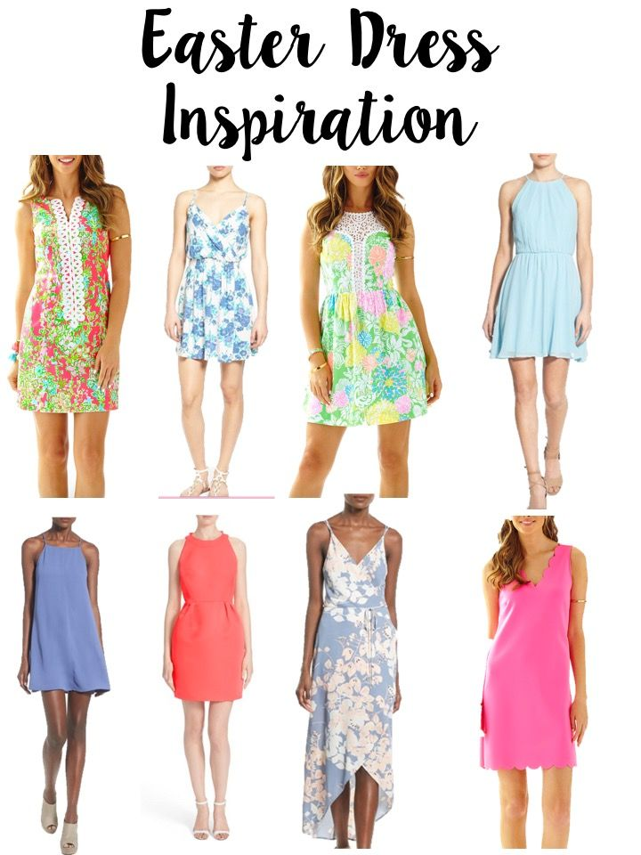 Today on Breakfast at Lilly's I am sharing a little Easter Dress Inspiration for those of you who are still struggling to figure out what to wear on Easter.