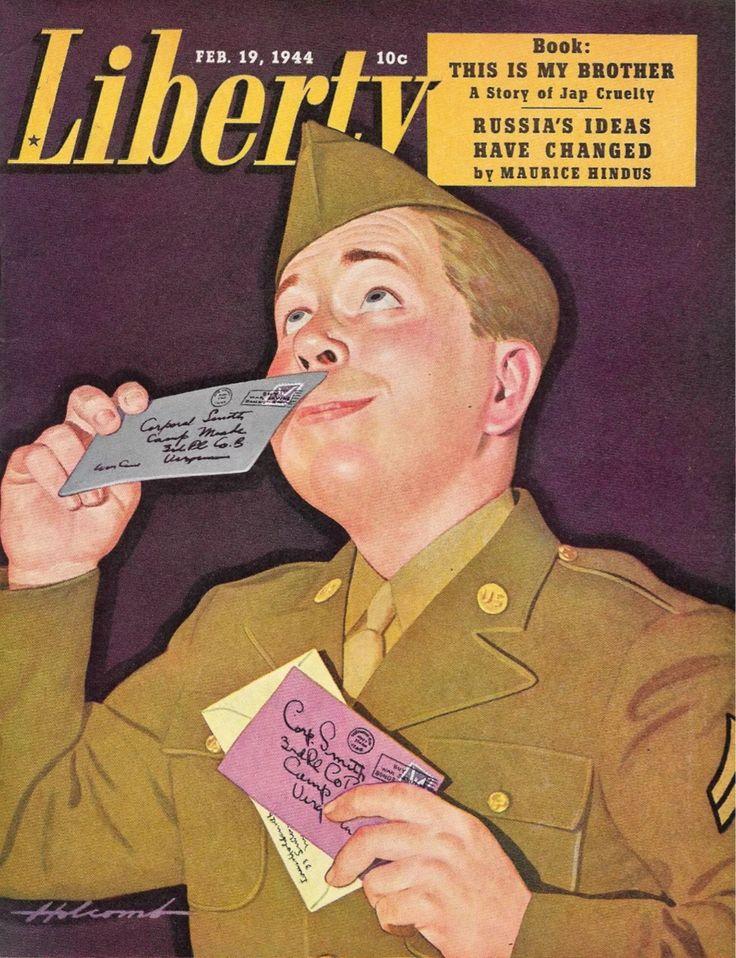 Liberty Magazine, February 19, 1944 (Dal Holcomb)