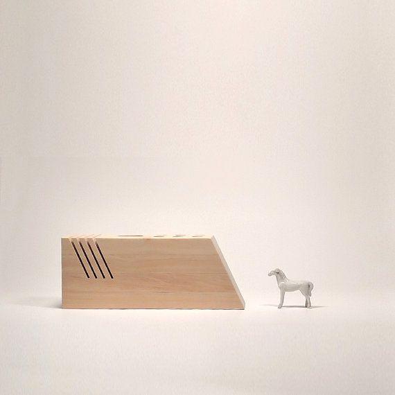 Desk organizer set, Wooden Desk Accessories,  Office Mail Organizer, Letter Holder, op Etsy, 22,55€