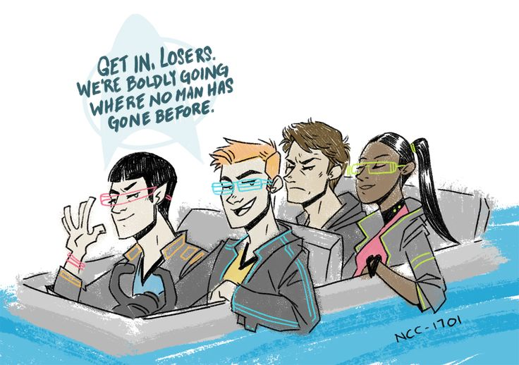 Star Trek Mean Girls :P