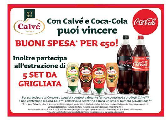 Concorso: con Coca-Cola e Calvè vinci Cadhoc, il buono regalo perfetto come Premio per concorsi e promozioni