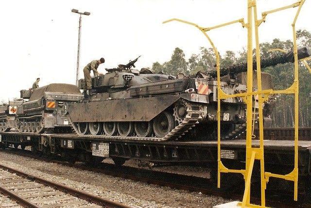 British Army Chieftain tank.