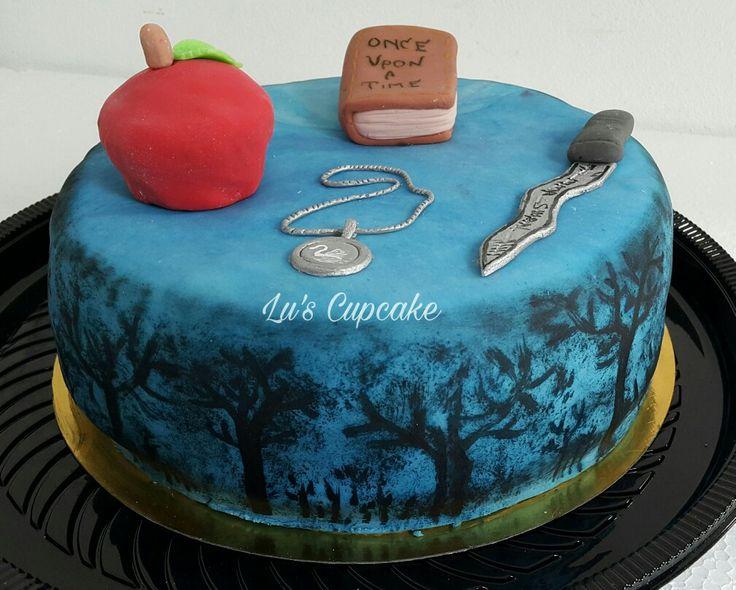 Once upon a time cake, bizcochuelo de vainilla relleno de dulce de leche  Fb/lucrecupcake