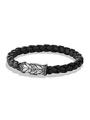 David Yurman Chevron Black Diamond Bracelet