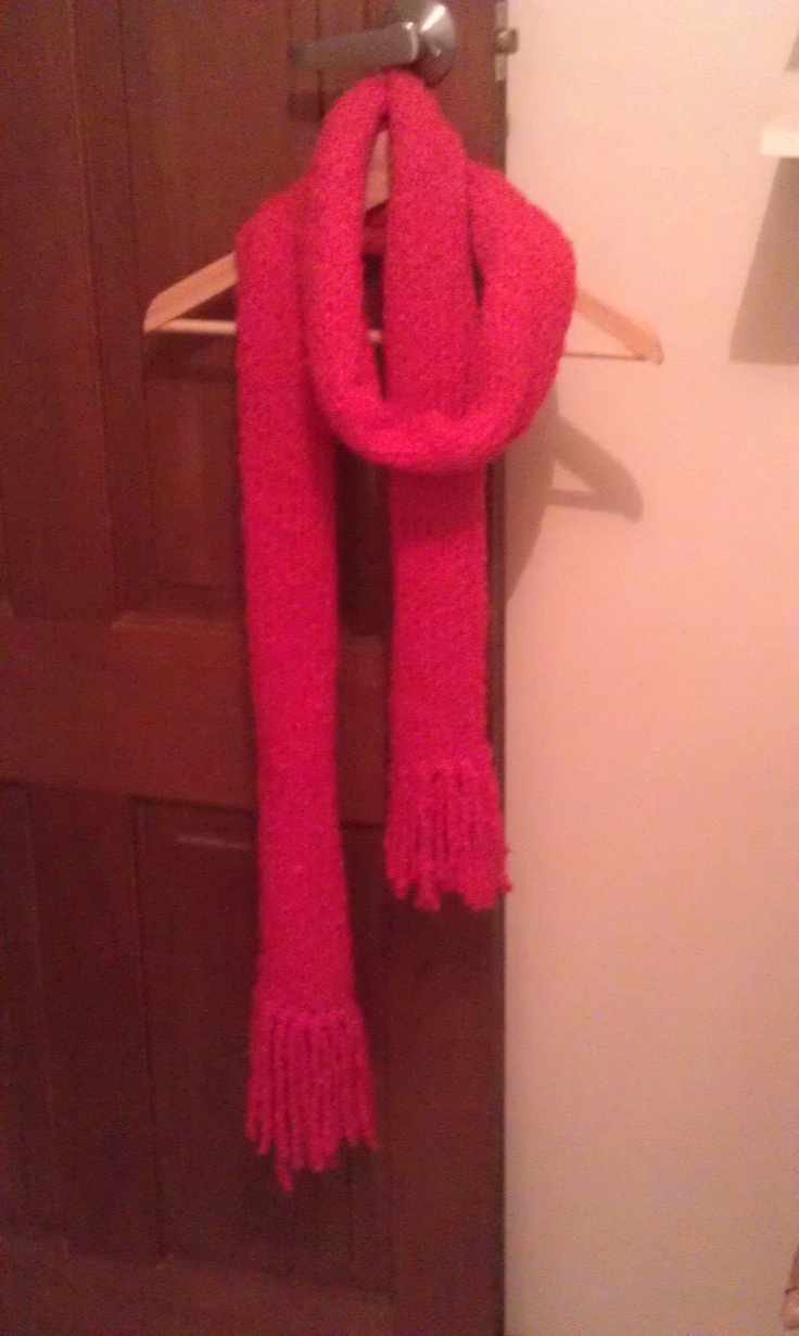 Winter scarf.