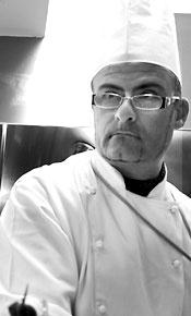 """Agostino Simeone, Chef del """"Bacchus"""" Ristorante."""