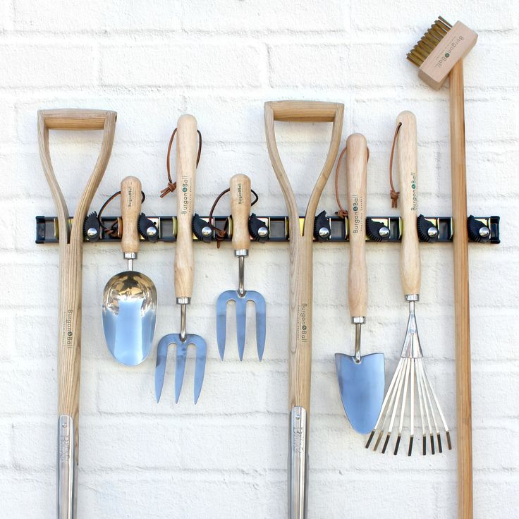 Ingenious Tool Hanging System To Keep Tool And Garden Sheds, Garages And  Broom Cupboards Organised And Tidy.
