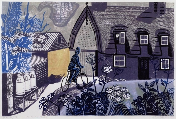 The Road to Thaxted, Edward Bawden