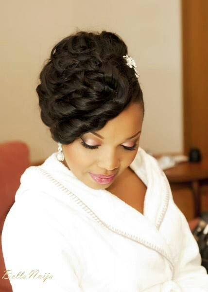 I Love This Hairstyle Bridal HairstylesBlack