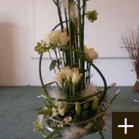 Grand décor de fleurs
