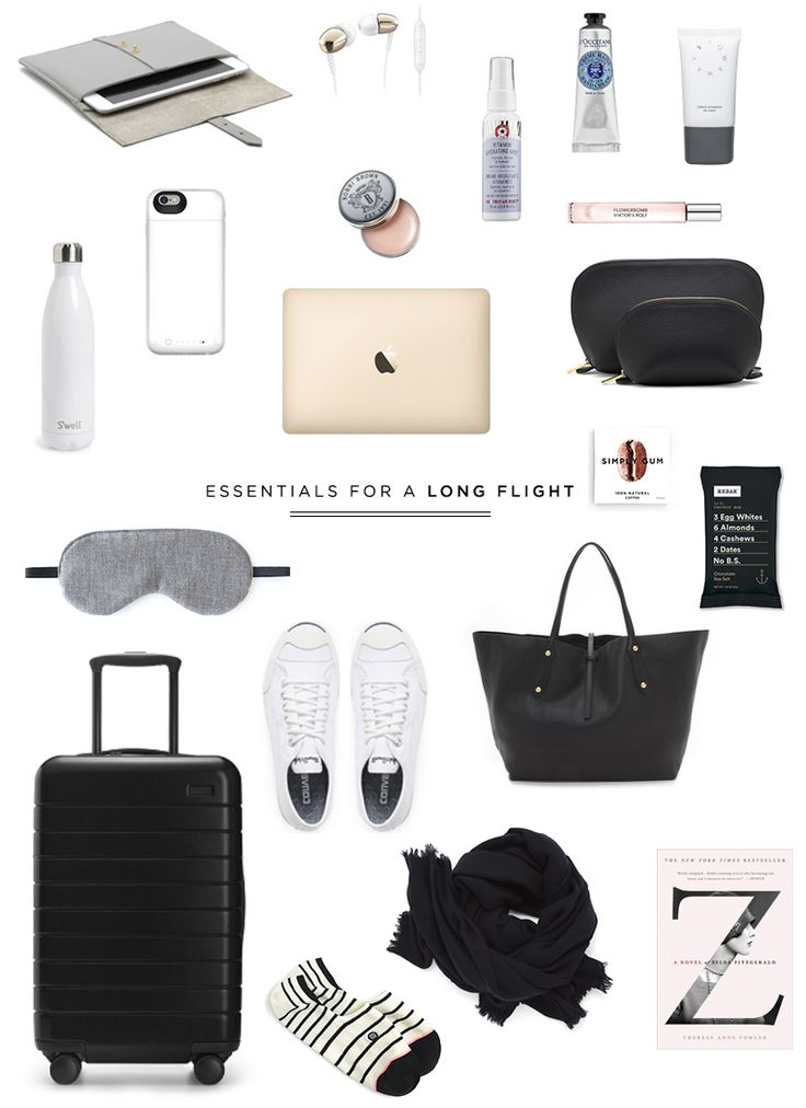 danielle moss travel essentials for a long flight
