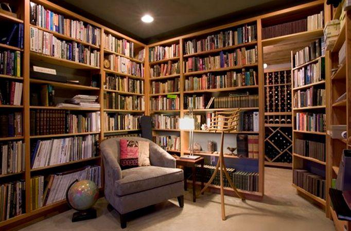 Фото дизайн библиотеки