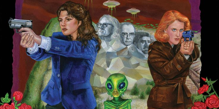 "IDW's ""The X-Files: Deviations 2017"" re-teams Amy Chu and Elena Casagrande for a tale of a different Mulder & Scully."