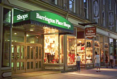 Halifax , Barrington Place shops downtown
