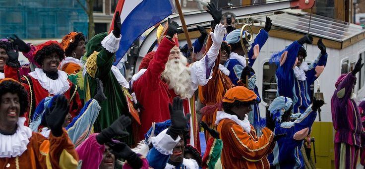 Sinterklaas met Zwarte Pieten 2010