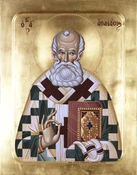 St. Athanasius - my saint & name day Jan 18