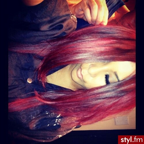 Styl.fm Snooki red hair