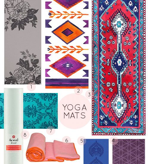 Cute yoga mats...