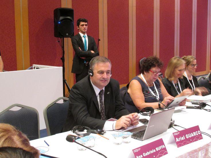 In the Board Meeting in Antalya, Nov 2015